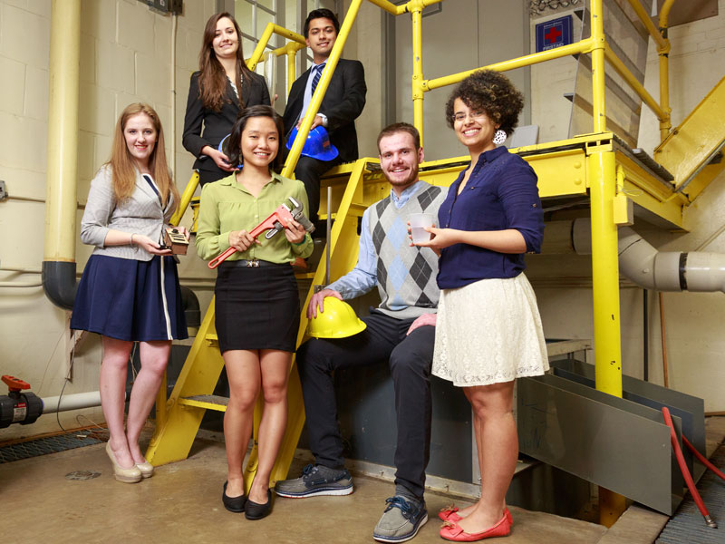 Graduating Engineers Rise to the Challenge