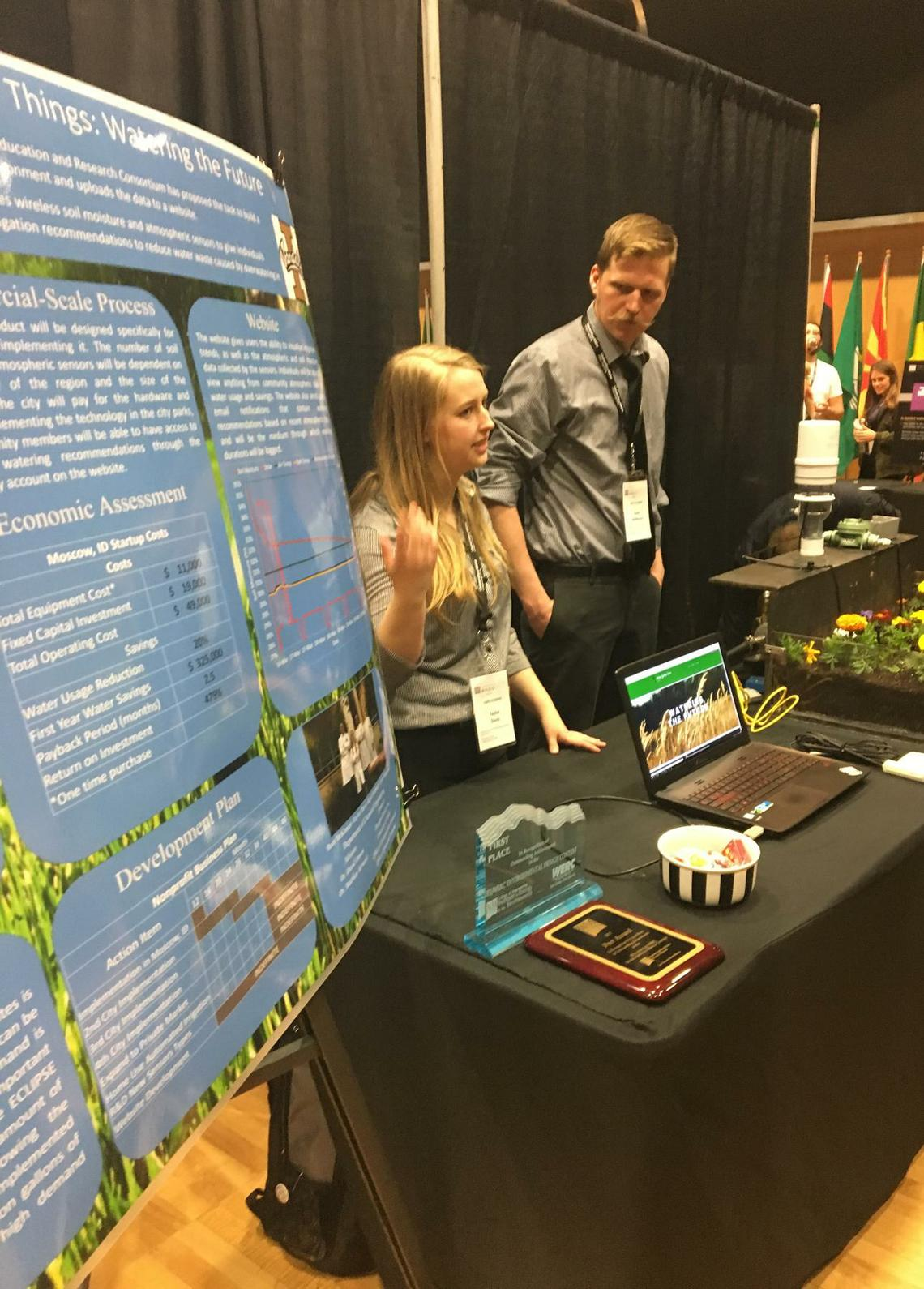University of Idaho Engineering Design Expo provides platform for novel inventions