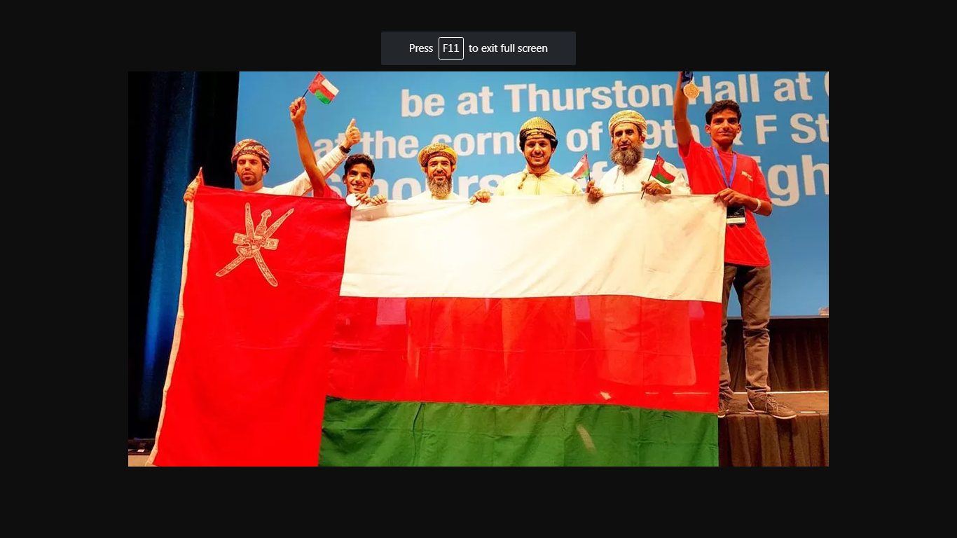 Hearing Impaired Omani Students Win Award in US Robotics Competition