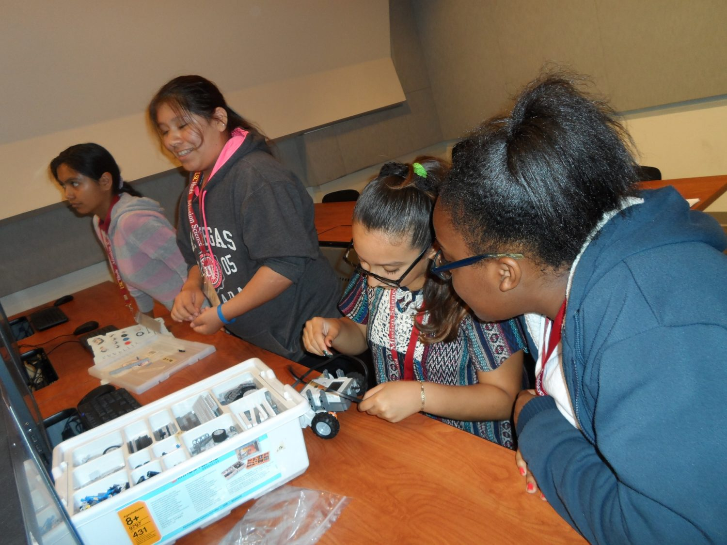 STEM Summer Day Camp to Support Latino and African American Girls in Southern California