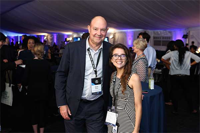 NAE Media Director Randy Atkins and NAE Media Associate Maggie Bartolomeo helped cover the events of the 2017 Summit