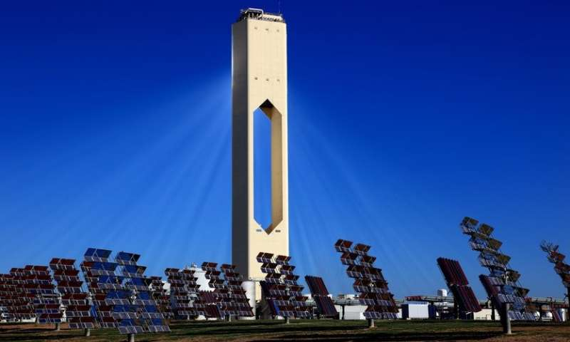 Aluminum Nitride to Extend Life of Solar Power Plants