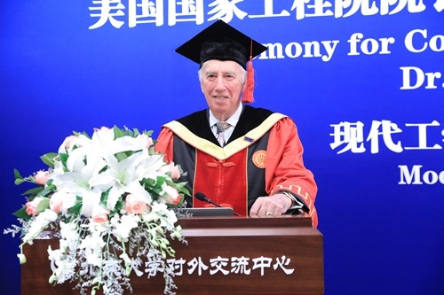 C.D. (Dan) Mote Awarded Honorary Doctorate by Peking University