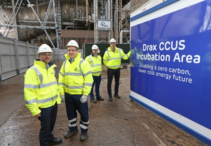 Drax Carbon Capture Pilot Claims its First CO2