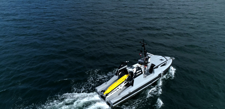Robot Team Set Sail for Offshore Wind Farm Inspection