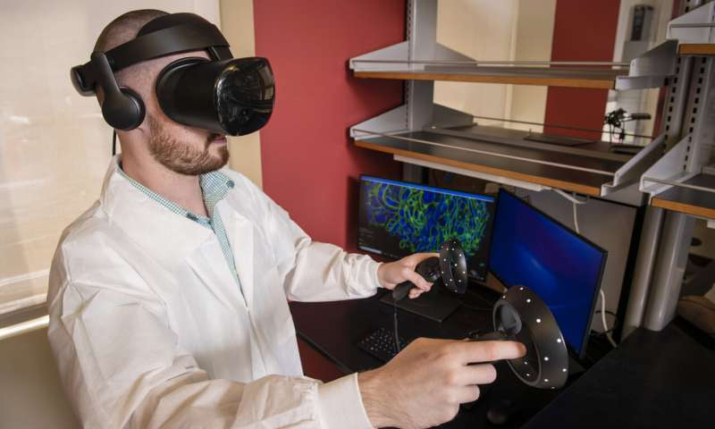 Expansion Microscopy and VR Illuminate New Ways to Prevent and Treat Disease